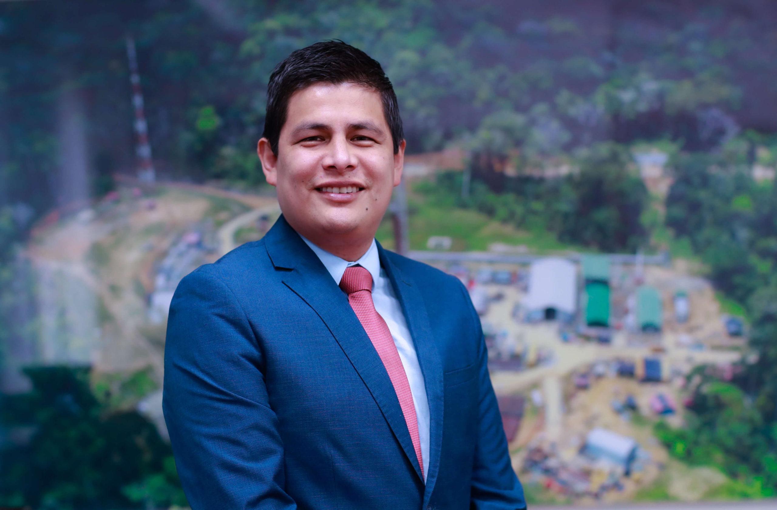 Erick García, Director General de Hidrocarburos