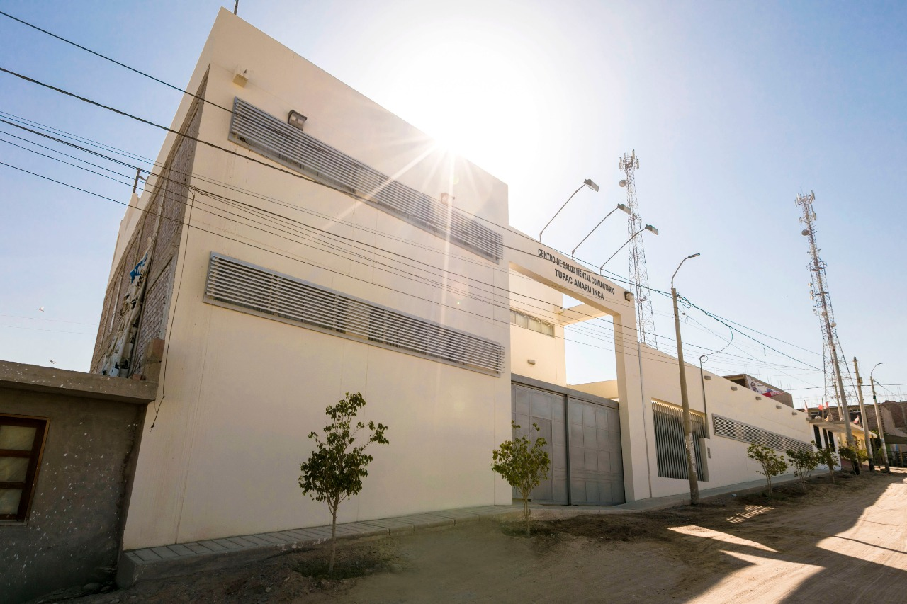 Camisea financia moderno Centro de Salud Mental en Pisco
