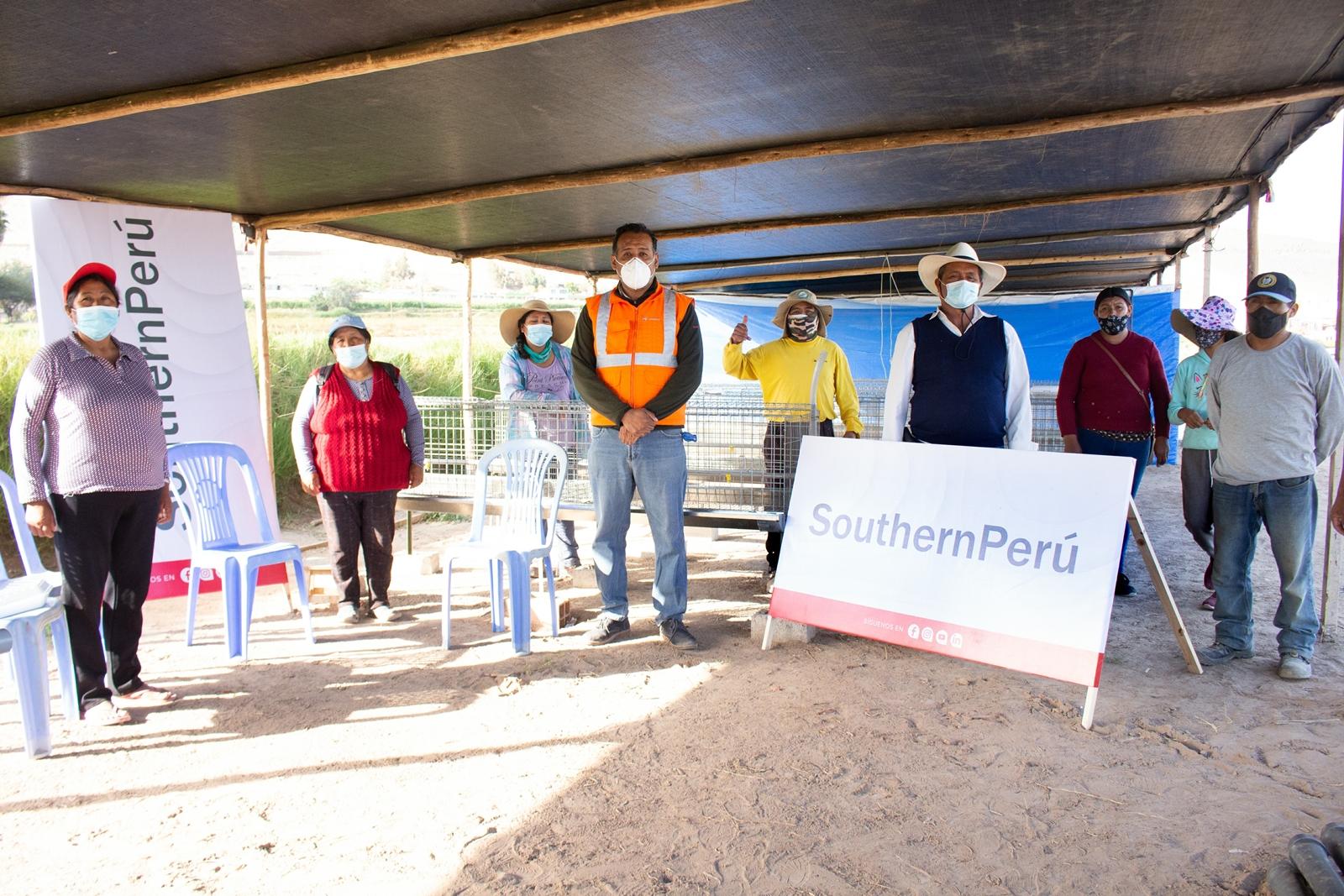 Southern Perú impulsa emprendimiento avícola en Ite