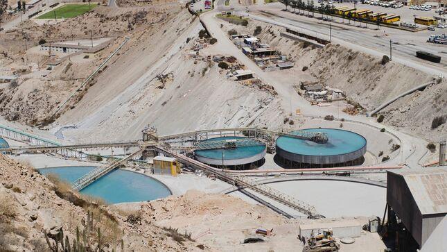 Más del 60% del cobre provino del sur del Perú