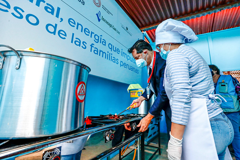 Mil instituciones de apoyo social serán abastecidas con gas natural
