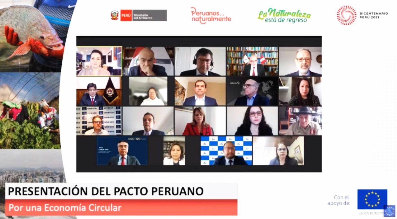 SNMPE suscribe pacto para promover una economía circular en el Perú