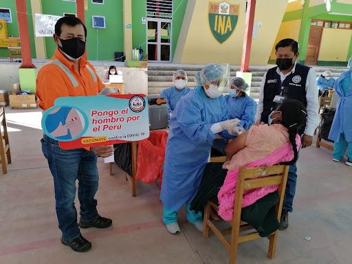 Las Bambas desarrolló Gran Vacunatón en Cotabambas, Andahuaylas y Abancay