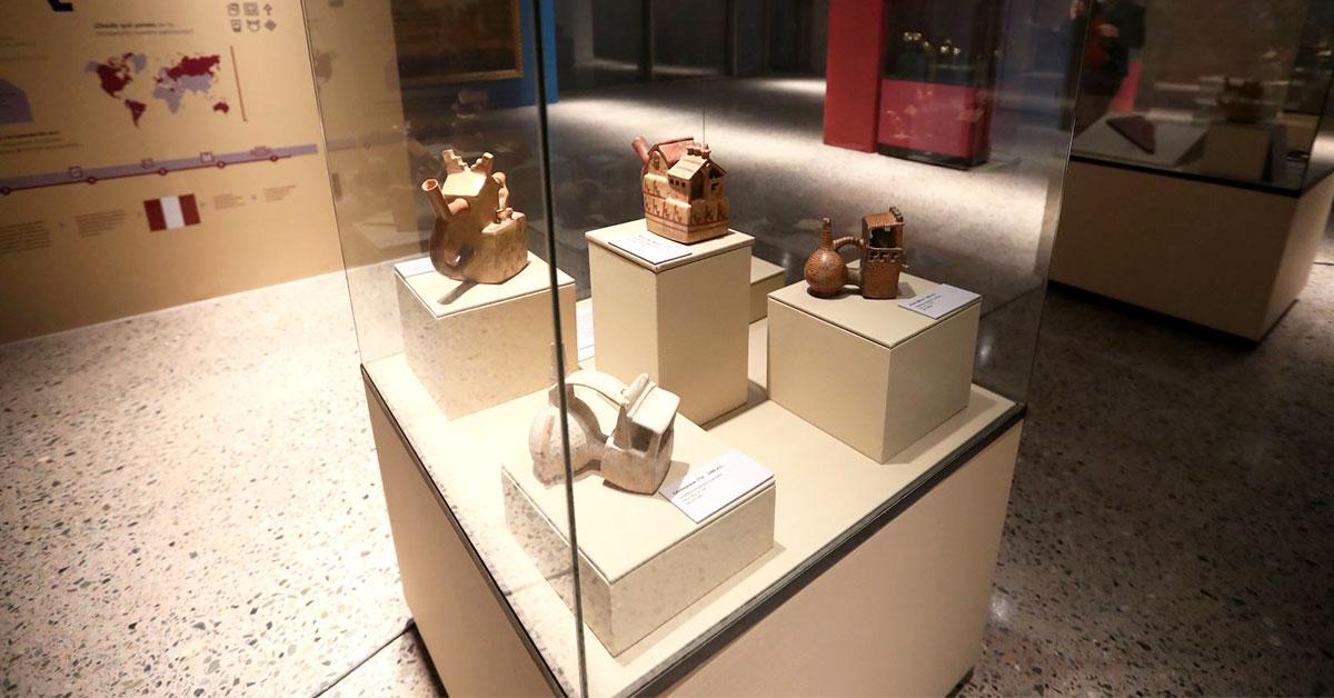 Petroperú auspiciará exposiciones temporales en Museo Nacional del Perú