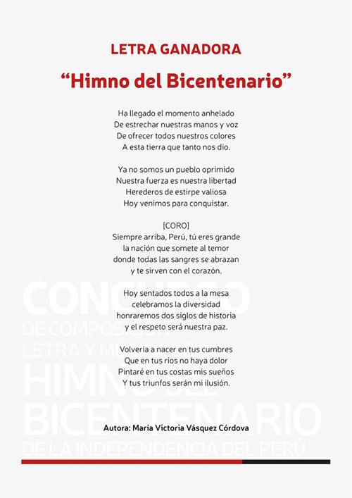 Himno Bicentenario