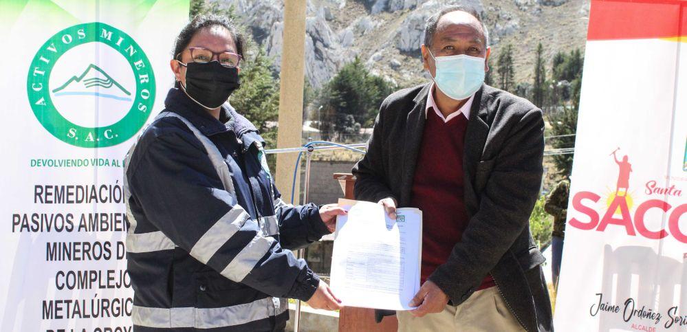 Activos Mineros remedió los suelos mineralizados en La Oroya