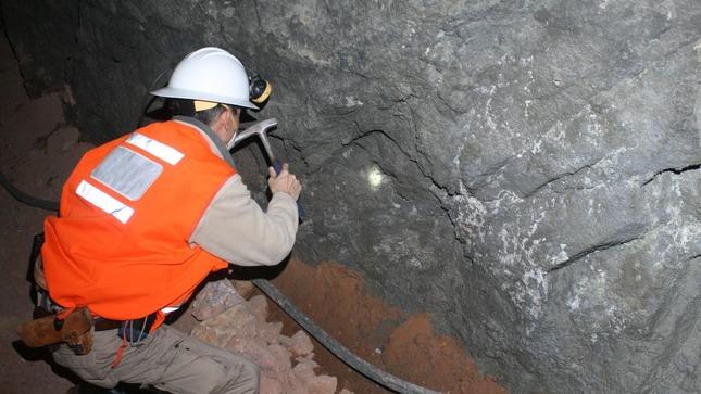 Exploración minera