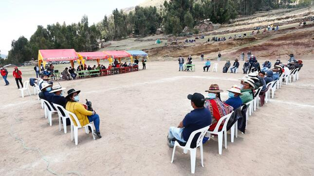 Gobierno dialoga con Cotabambas